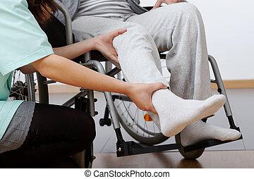 behinderten, rehabilitation