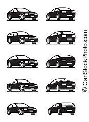 Beliebte Autos im Blick