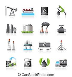 benzin, industriebereiche, oel, heiligenbilder