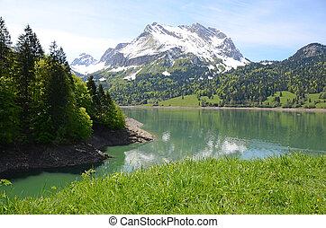 Bergsee. Schweiz