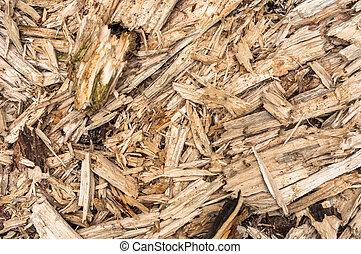 Beschädigter Holzhintergrund