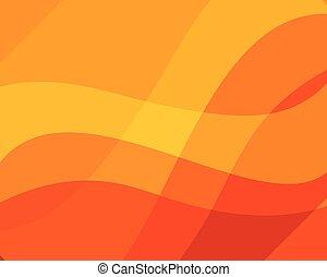beschaffenheit, hintergrund, dynamisch, orange