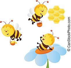 Bienen bereit