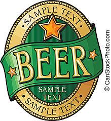 Bier-Etikett-Design