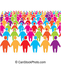 Big-Crowd-of-many-colors-social-peo.