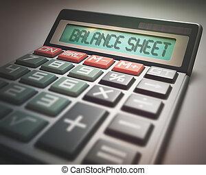 Bilanzrechnungsrechner