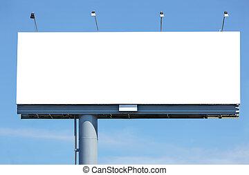Blanke Plakate
