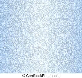 Blauer, nahtloser Hintergrund.