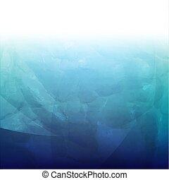 Blauer Retro Hintergrund.