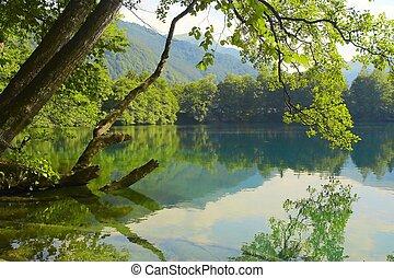 Blauer See.