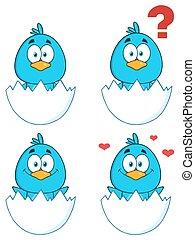 Blauer Vogel 1. Sammlung