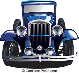 Blaues Oldtimer