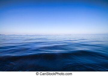 Blaues Wasser ist abstrakter Hintergrund
