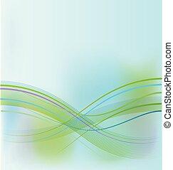 Blaugrüner, abstrakter Hintergrund.