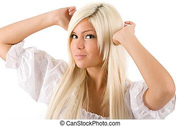 Blonden mit haaren chinese schwarzer Schwarzer Monstercock
