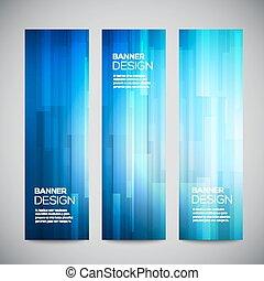 Blue low polyvektor vertikale Banner mit polygonal abstrakten Linien. Abstract Vektor-Polygonale hellen Hintergrund. Vector Web-Tasten. Design-Vektorelemente
