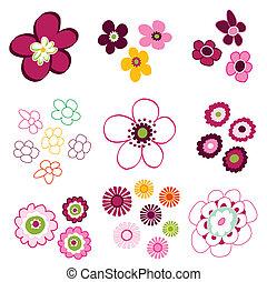 Blumen, Blumenelemente