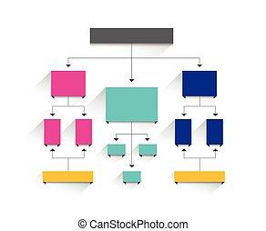 Blumendiagramm. Einfach ohne Text editierbar. Infographisches Element.