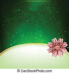 Blumenhintergrund mit Platz für Text.