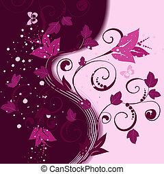 Blumenmuster abstrakter Hintergrund