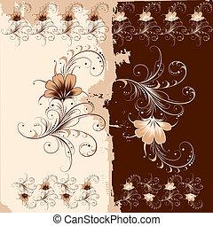 Blumenschmuckmuster