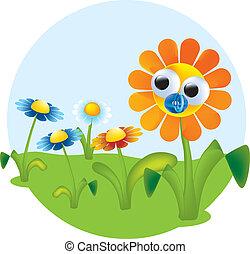 Blumenvektor