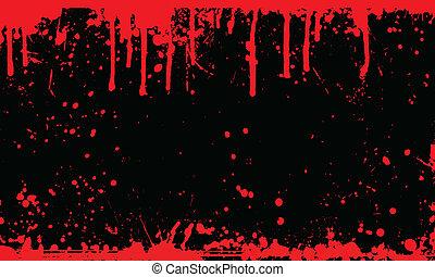 Blut splatiger Hintergrund