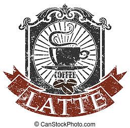 bohnenkaffee, briefmarke