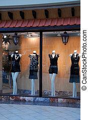 Boutique-Fenster