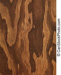 Braune Holzbüchse