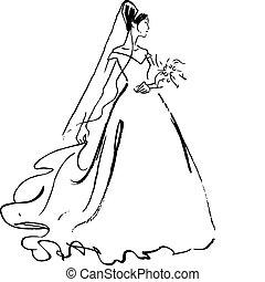 Brautzeichnung