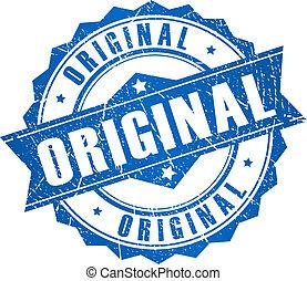 briefmarke, vektor, original