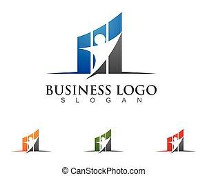 Business Finance Logo-Vorlage.