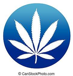 cannabis, design, ikone