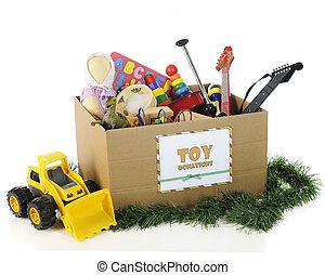 Charity-Spielzeug zu Weihnachten