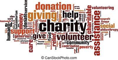 Charity Wortwolke