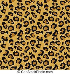 Cheetah-Tiermuster nahtlose Fliesen.