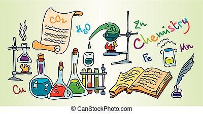 chemie, labor