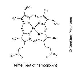chemische , heme, formel