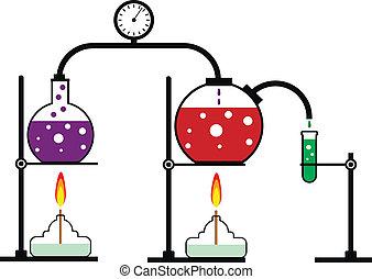 chemische reaktion