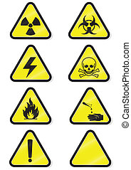 chemische Warnsignale.