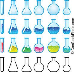 chemische , wissenschaftsausrüstung
