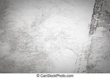 Chinesische Malerei auf grauem Papier abbrechen