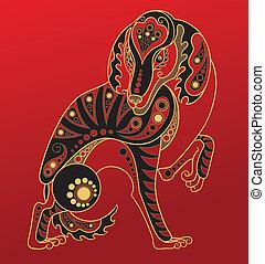 Chinesisches Horoskop. Das Jahr des Hundes