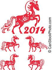 Chinesisches Jahr 2014.