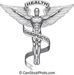 Chiroprakisches Symbol