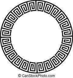 Circular alter aztekischer Goemetrie oder
