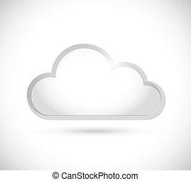Cloud Grenz Illustration Design.