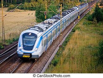 Commuter-Zug.