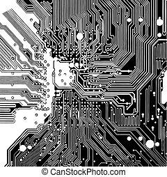 Computerschaltkreise (vektor)